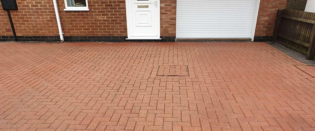 Can I pressure wash a block driveway?