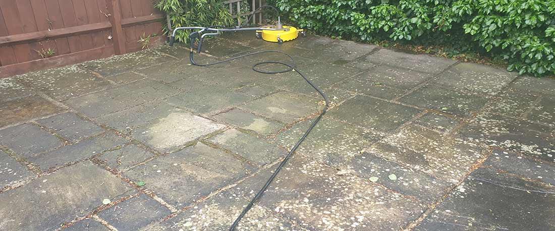 Will pressure washing damage my driveway